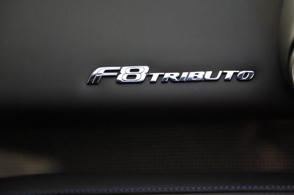 Used 2020 Ferrari F8 Tributo for sale $349,900 at Maserati of Greenwich in Greenwich CT 06830 21