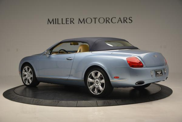 Used 2007 Bentley Continental GTC for sale Sold at Maserati of Greenwich in Greenwich CT 06830 16