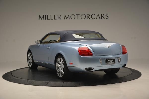 Used 2007 Bentley Continental GTC for sale Sold at Maserati of Greenwich in Greenwich CT 06830 17