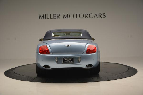 Used 2007 Bentley Continental GTC for sale Sold at Maserati of Greenwich in Greenwich CT 06830 18