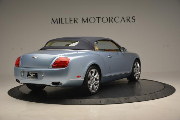 Used 2007 Bentley Continental GTC for sale Sold at Maserati of Greenwich in Greenwich CT 06830 19