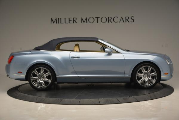 Used 2007 Bentley Continental GTC for sale Sold at Maserati of Greenwich in Greenwich CT 06830 21
