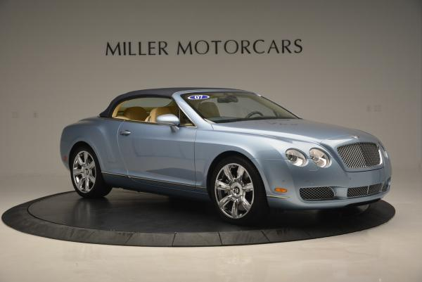 Used 2007 Bentley Continental GTC for sale Sold at Maserati of Greenwich in Greenwich CT 06830 22