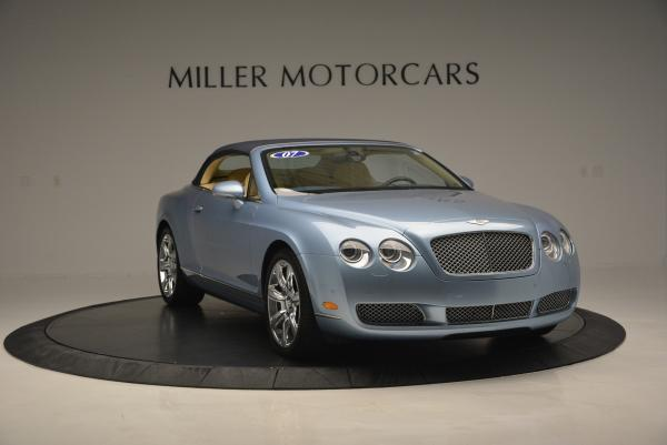 Used 2007 Bentley Continental GTC for sale Sold at Maserati of Greenwich in Greenwich CT 06830 23