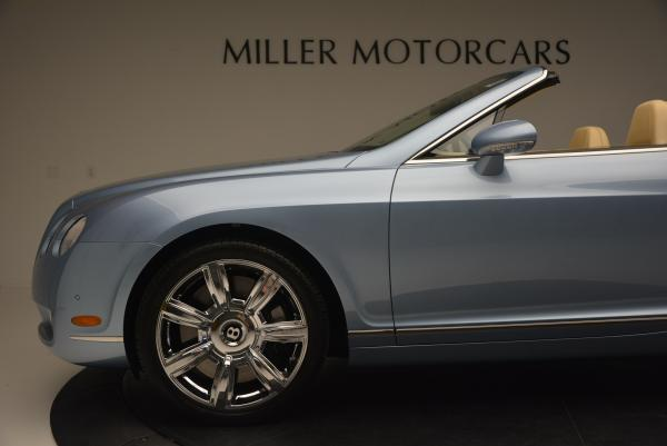 Used 2007 Bentley Continental GTC for sale Sold at Maserati of Greenwich in Greenwich CT 06830 28