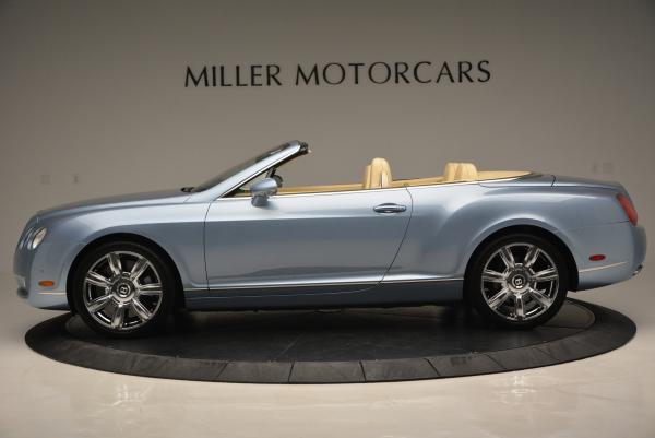 Used 2007 Bentley Continental GTC for sale Sold at Maserati of Greenwich in Greenwich CT 06830 3