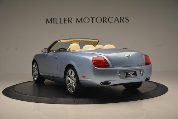 Used 2007 Bentley Continental GTC for sale Sold at Maserati of Greenwich in Greenwich CT 06830 5