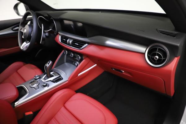 New 2021 Alfa Romeo Stelvio Ti Sport Q4 for sale $56,240 at Maserati of Greenwich in Greenwich CT 06830 22