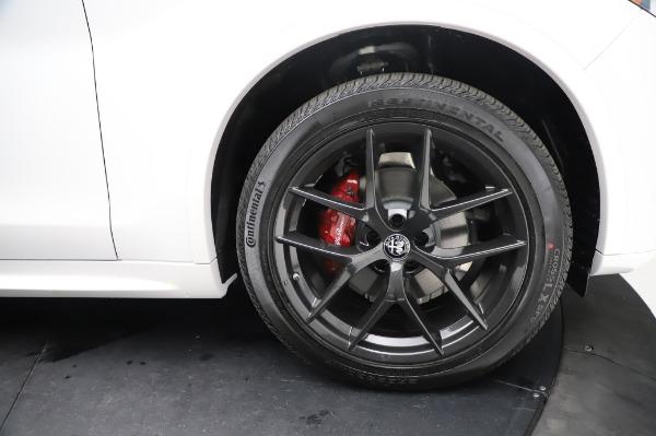 New 2021 Alfa Romeo Stelvio Ti Sport Q4 for sale $56,240 at Maserati of Greenwich in Greenwich CT 06830 28