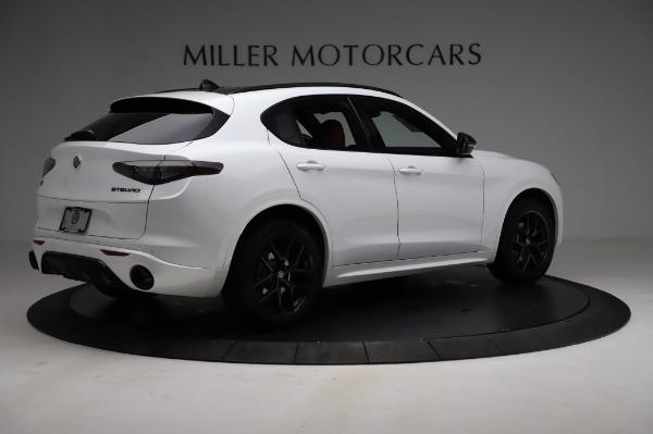 New 2021 Alfa Romeo Stelvio Ti Sport Q4 for sale $56,240 at Maserati of Greenwich in Greenwich CT 06830 8
