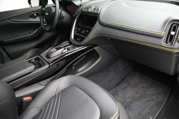 New 2021 Aston Martin DBX for sale $209,686 at Maserati of Greenwich in Greenwich CT 06830 20