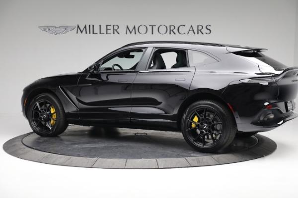 New 2021 Aston Martin DBX for sale $209,686 at Maserati of Greenwich in Greenwich CT 06830 3