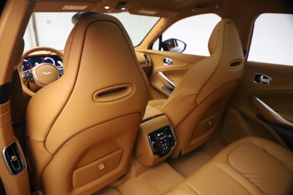 New 2021 Aston Martin DBX for sale $214,986 at Maserati of Greenwich in Greenwich CT 06830 15