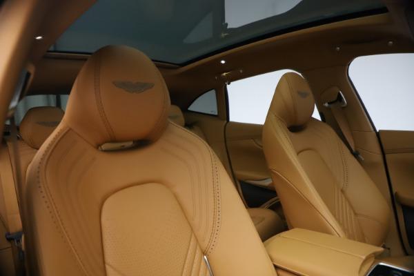 New 2021 Aston Martin DBX for sale $214,986 at Maserati of Greenwich in Greenwich CT 06830 19