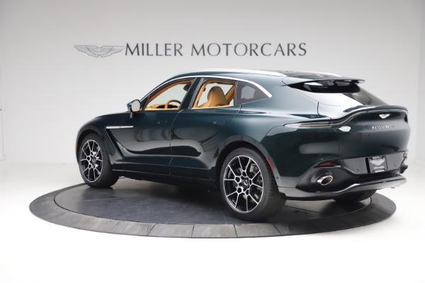 New 2021 Aston Martin DBX for sale $214,986 at Maserati of Greenwich in Greenwich CT 06830 3