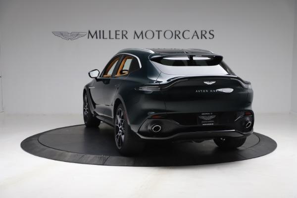 New 2021 Aston Martin DBX for sale $214,986 at Maserati of Greenwich in Greenwich CT 06830 4