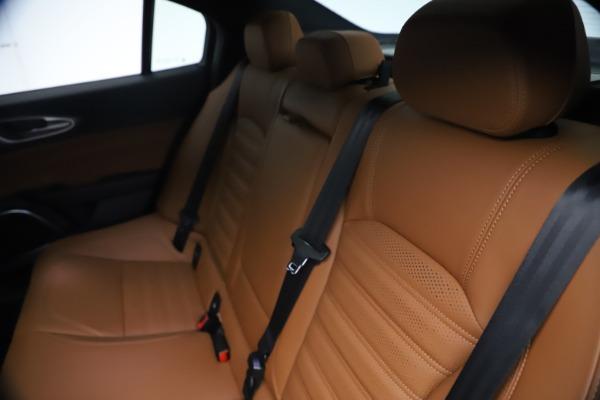 New 2021 Alfa Romeo Giulia Ti Sport Q4 for sale $54,050 at Maserati of Greenwich in Greenwich CT 06830 20