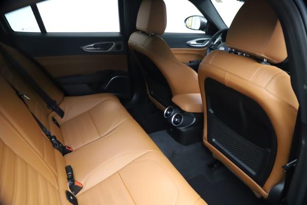 New 2021 Alfa Romeo Giulia Ti Sport Q4 for sale $54,050 at Maserati of Greenwich in Greenwich CT 06830 25