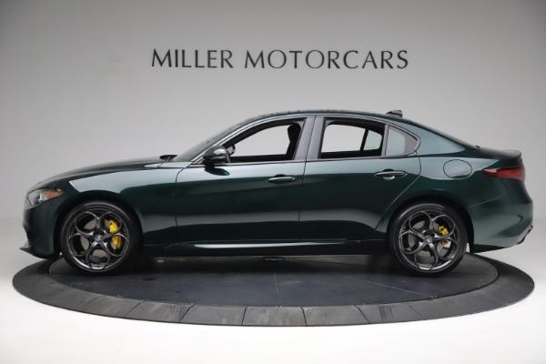 New 2021 Alfa Romeo Giulia Ti Sport Q4 for sale $54,050 at Maserati of Greenwich in Greenwich CT 06830 3