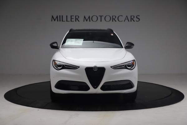 New 2021 Alfa Romeo Stelvio Ti Sport Q4 for sale $54,095 at Maserati of Greenwich in Greenwich CT 06830 13