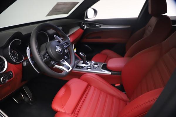 New 2021 Alfa Romeo Stelvio Ti Sport Q4 for sale $54,095 at Maserati of Greenwich in Greenwich CT 06830 14