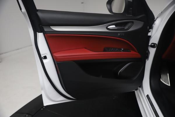 New 2021 Alfa Romeo Stelvio Ti Sport Q4 for sale $54,095 at Maserati of Greenwich in Greenwich CT 06830 17