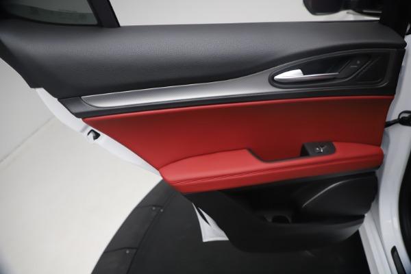 New 2021 Alfa Romeo Stelvio Ti Sport Q4 for sale $54,095 at Maserati of Greenwich in Greenwich CT 06830 21