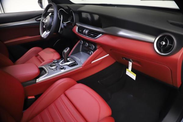 New 2021 Alfa Romeo Stelvio Ti Sport Q4 for sale $54,095 at Maserati of Greenwich in Greenwich CT 06830 22