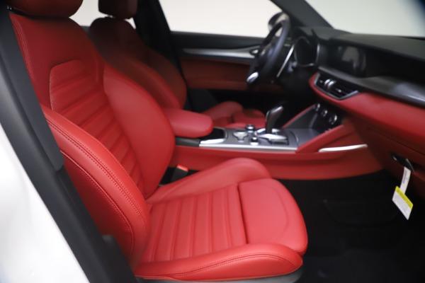 New 2021 Alfa Romeo Stelvio Ti Sport Q4 for sale $54,095 at Maserati of Greenwich in Greenwich CT 06830 23