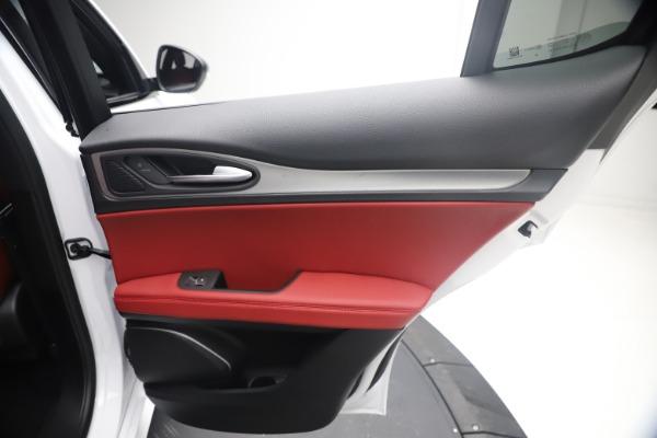 New 2021 Alfa Romeo Stelvio Ti Sport Q4 for sale $54,095 at Maserati of Greenwich in Greenwich CT 06830 27