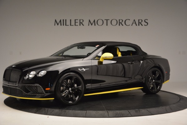 New 2017 Bentley Continental GT Speed Black Edition Convertible for sale Sold at Maserati of Greenwich in Greenwich CT 06830 11