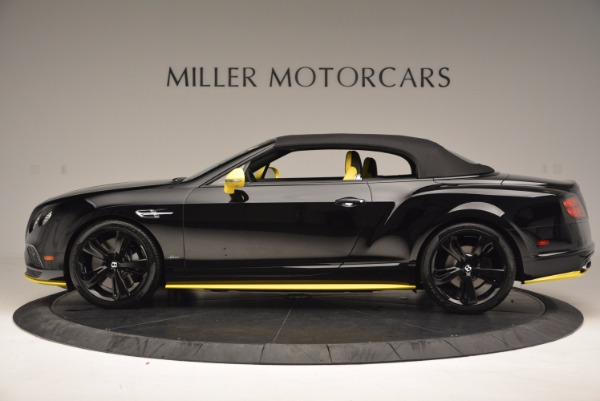 New 2017 Bentley Continental GT Speed Black Edition Convertible for sale Sold at Maserati of Greenwich in Greenwich CT 06830 12