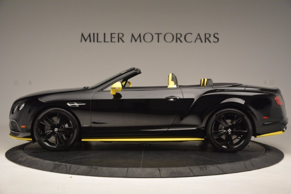 New 2017 Bentley Continental GT Speed Black Edition Convertible for sale Sold at Maserati of Greenwich in Greenwich CT 06830 3