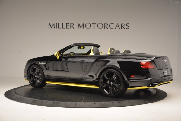New 2017 Bentley Continental GT Speed Black Edition Convertible for sale Sold at Maserati of Greenwich in Greenwich CT 06830 4