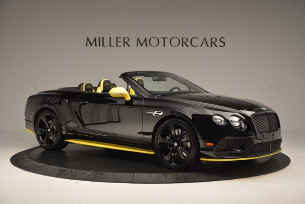 New 2017 Bentley Continental GT Speed Black Edition Convertible for sale Sold at Maserati of Greenwich in Greenwich CT 06830 7