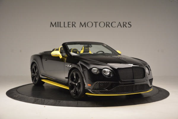 New 2017 Bentley Continental GT Speed Black Edition Convertible for sale Sold at Maserati of Greenwich in Greenwich CT 06830 8