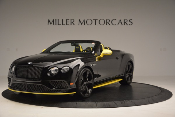 New 2017 Bentley Continental GT Speed Black Edition Convertible for sale Sold at Maserati of Greenwich in Greenwich CT 06830 1