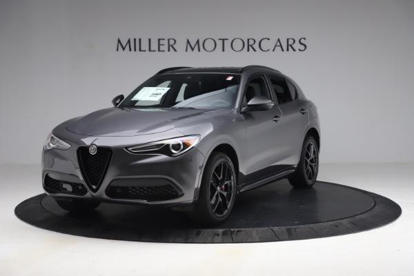 New 2021 Alfa Romeo Stelvio Ti Sport Q4 for sale $57,200 at Maserati of Greenwich in Greenwich CT 06830 2