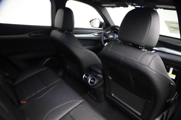 New 2021 Alfa Romeo Stelvio Ti Sport Q4 for sale $57,200 at Maserati of Greenwich in Greenwich CT 06830 24