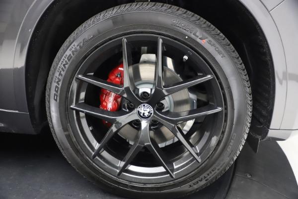 New 2021 Alfa Romeo Stelvio Ti Sport Q4 for sale $57,200 at Maserati of Greenwich in Greenwich CT 06830 26