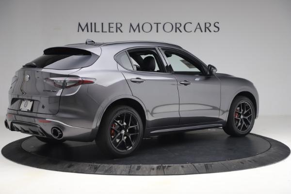 New 2021 Alfa Romeo Stelvio Ti Sport Q4 for sale $57,200 at Maserati of Greenwich in Greenwich CT 06830 8
