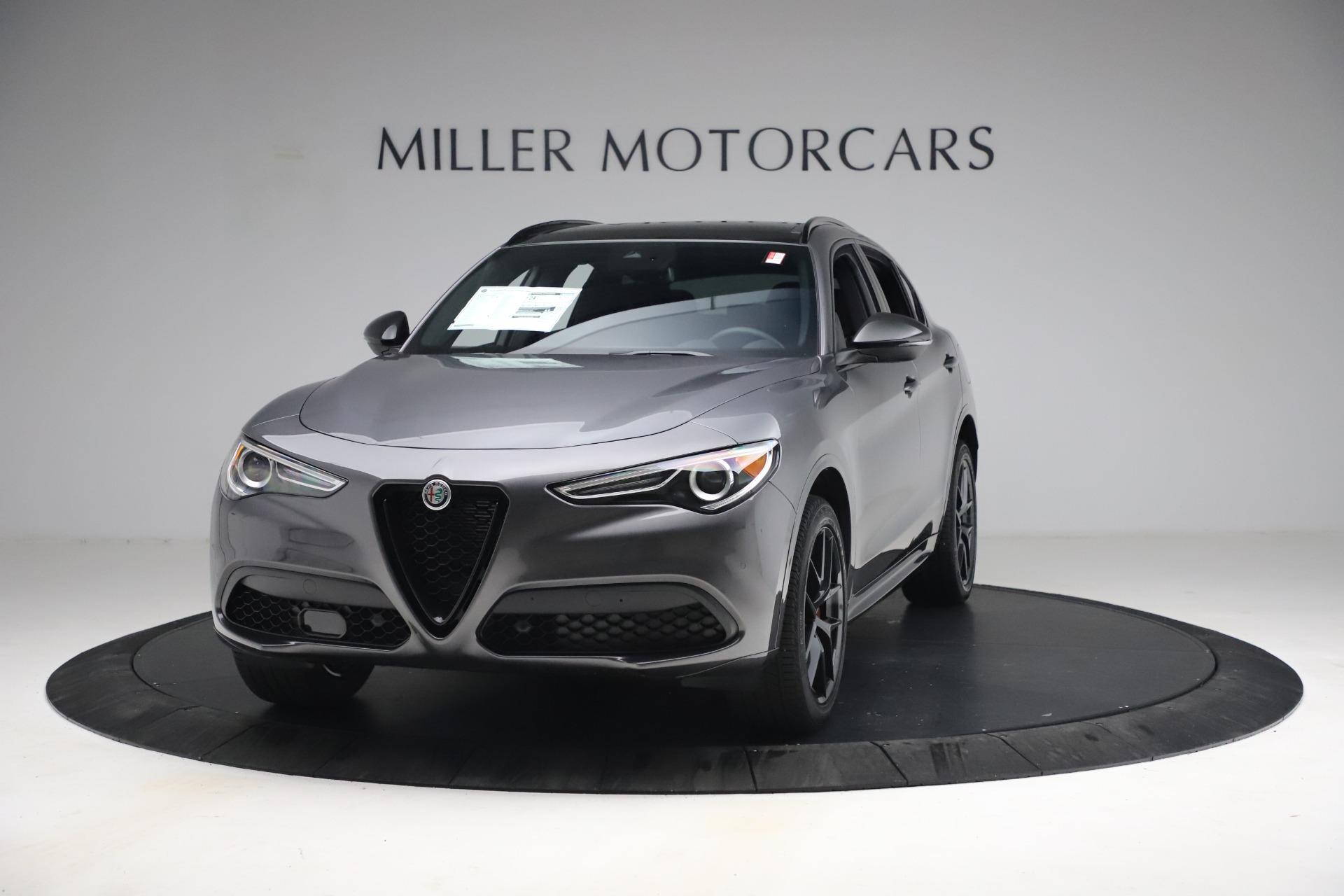 New 2021 Alfa Romeo Stelvio Ti Sport Q4 for sale $57,200 at Maserati of Greenwich in Greenwich CT 06830 1