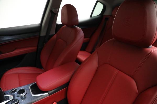 New 2021 Alfa Romeo Stelvio Q4 for sale $50,445 at Maserati of Greenwich in Greenwich CT 06830 14