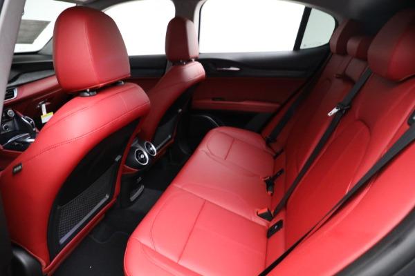 New 2021 Alfa Romeo Stelvio Q4 for sale $50,445 at Maserati of Greenwich in Greenwich CT 06830 17