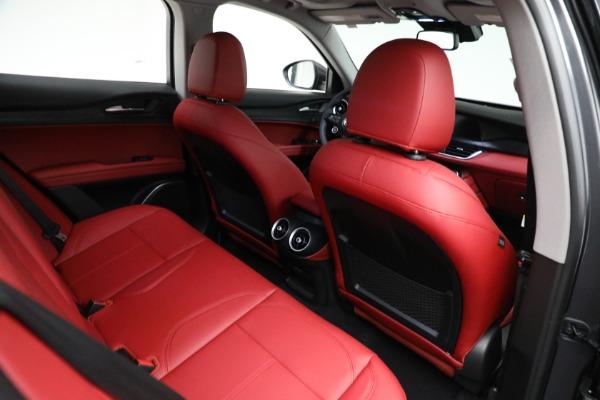 New 2021 Alfa Romeo Stelvio Q4 for sale $50,445 at Maserati of Greenwich in Greenwich CT 06830 21