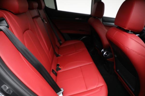 New 2021 Alfa Romeo Stelvio Q4 for sale $50,445 at Maserati of Greenwich in Greenwich CT 06830 22
