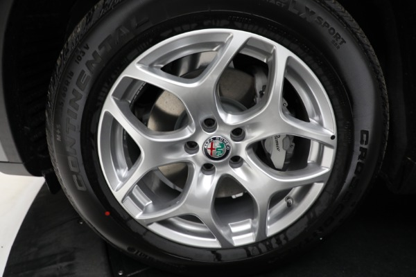 New 2021 Alfa Romeo Stelvio Q4 for sale $50,445 at Maserati of Greenwich in Greenwich CT 06830 23