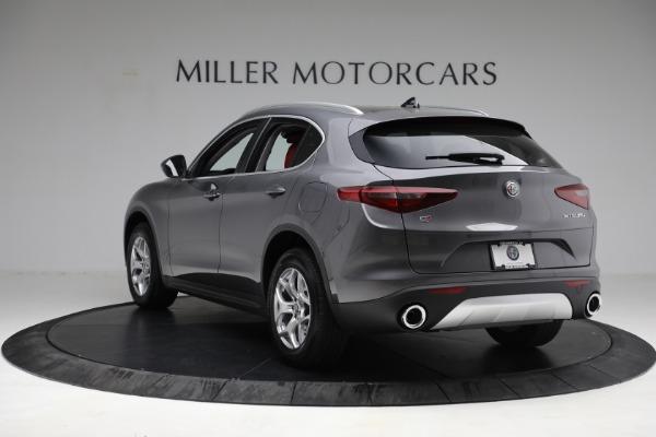 New 2021 Alfa Romeo Stelvio Q4 for sale $50,445 at Maserati of Greenwich in Greenwich CT 06830 5