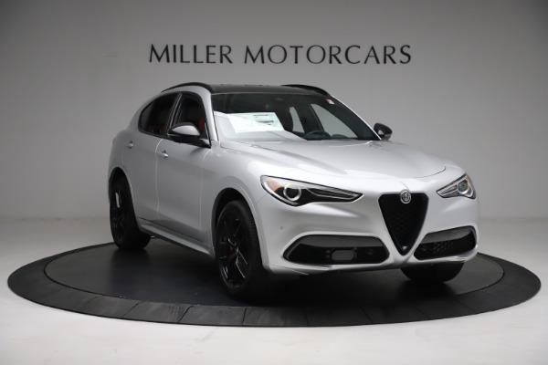 New 2021 Alfa Romeo Stelvio Ti Sport Q4 for sale $57,200 at Maserati of Greenwich in Greenwich CT 06830 12