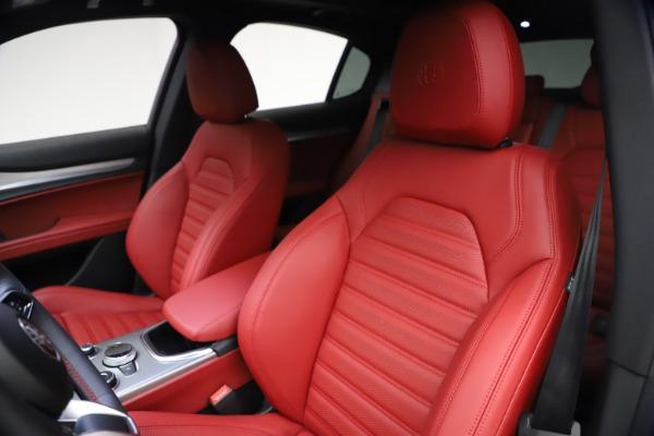 New 2021 Alfa Romeo Stelvio Ti Sport Q4 for sale $57,200 at Maserati of Greenwich in Greenwich CT 06830 16